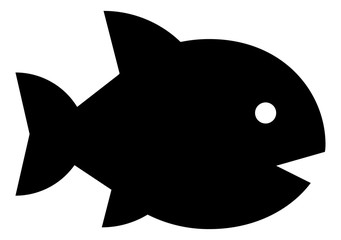 Aquarium Fish Vector Icon