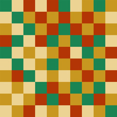 Colorful pattern with different shapes objects. Texture background for textile, print, paper, fabric background, wallpaper