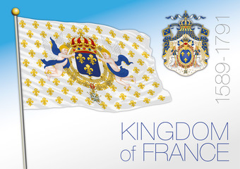 Kingdom of France, historical flag