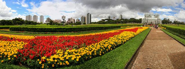 Botanischer Garten in Curitiba Brasilien Wall mural