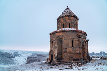 Ani Ruins, Ani is a ruined city-site situated in the Turkish province of Kars