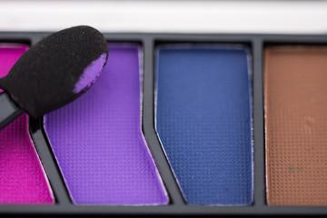 Eyeshadow palette and brush ,make up set ,colorful kit