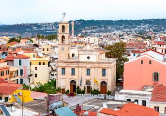 Chania Cathedral, Crete island, Greece