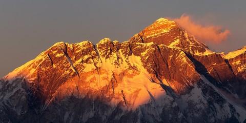 mount Everest Nepal Himalayas mountains sunset