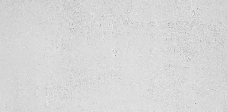 Abstract Grunge Decorative White Stucco Wall Background