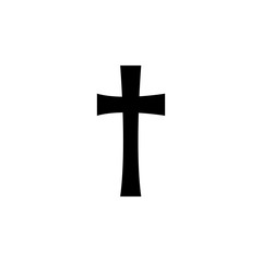 religion symbol, cross icon. Element of religion symbol illustration. Signs and symbols icon can be used for web, logo, mobile app, UI, UX