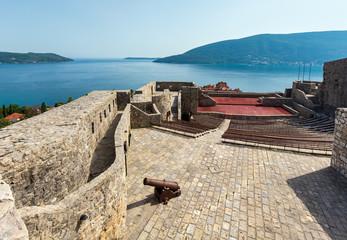 Forte Mare castle (Herceg Novi, Montenegro) Fototapete