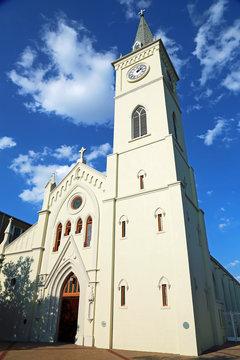 San Augustin de Laredo Cathedral close up  - Laredo Texas