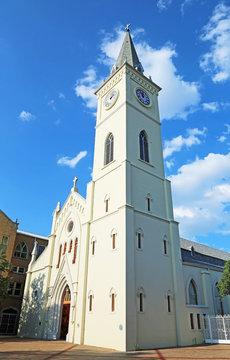 Tower of San Augustin de Laredo Cathedral - Laredo Texas