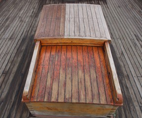 Wooden Boat Trunk