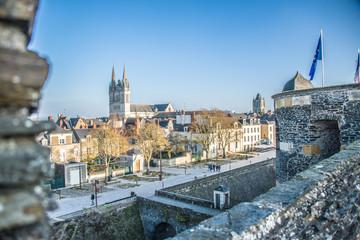 Cathédrale Saint Maurice, Angers, Pays de la Loire, France