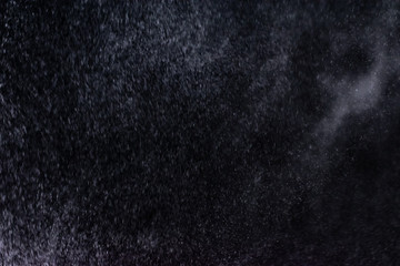 abstract splashes of water on a black background - Image