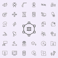 social network icon. New Technologies icons universal set for web and mobile