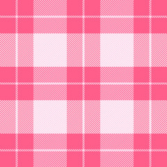 Valentines day Tartan plaid. Pattern Scottish cage