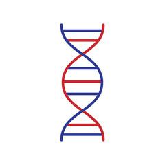 biotech colored flat icon vector design illustration