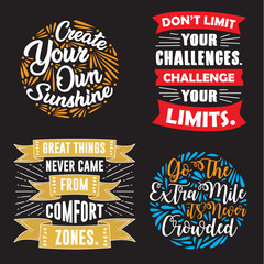 Motivation Quote and Saying Set good for print
