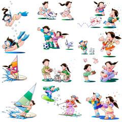 子供の遊びやスポーツ