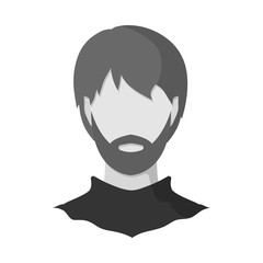 Vector illustration of avatar and dummy icon. Collection of avatar and image stock symbol for web.