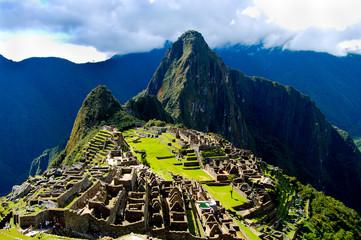 Machu Picchu Inca Ruins - Peru Wall mural