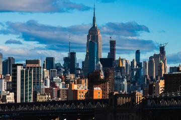 New York city view, NYC USA