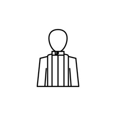 funeral, priest icon. Element of death icon for mobile concept and web apps. Detailed funeral, priest icon can be used for web and mobile