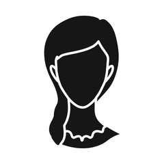 Vector design of avatar and dummy icon. Set of avatar and image stock symbol for web.