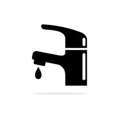 faucet icon. Vector concept illustration for design.