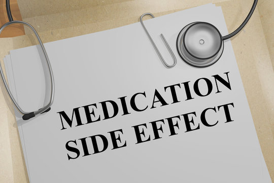 MEDICATION SIDE EFFECT concept