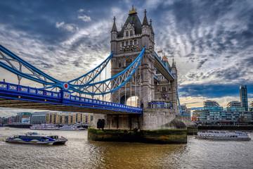 Photo sur Plexiglas Londres Tower Bridge in London