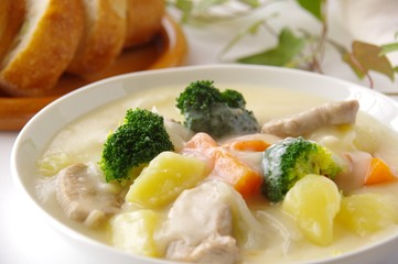 クリームシチュー シチュー 煮込み料理