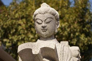 二宮金次郎 銅像 勤勉 石像