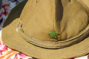 Soviet military field hat, used in Afghanistan