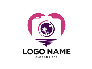 Photography Logo Designs Template Vector, Photo Idea Logo Designs Vector