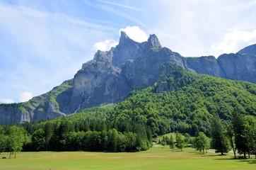 Cirque du Fer à Cheval, Sixt Fer à Cheval, Haute Savoie, Alpes