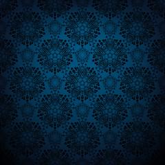 Dark blue lace