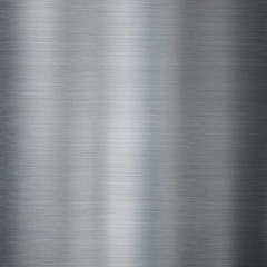 Metal brushed steel or aluminum texture