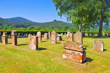 Jüdischer Friedhof Busenberg im Dahner Felsenland - Jewish Cemetery Busenberg in Dahn Rockland