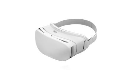 Virtual Reality Glasses. 3D Illustration