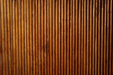 wooden vertical background of brown slats