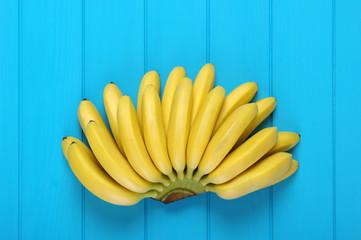Banana baby on blue