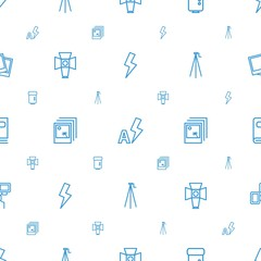 photograph icons pattern seamless white background