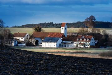 Typical village in Bavaria