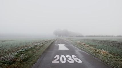 Schild 402 - 2036