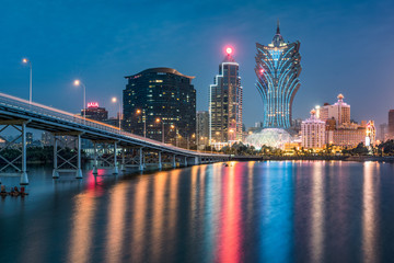 Foto op Plexiglas Asia land Spielcasinos in Macau, China