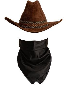 Hat and bandanna