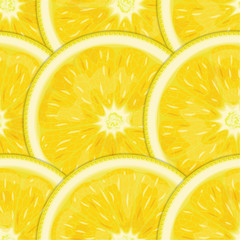 Citrus (lemon fruits seamless texture