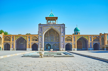 Historic landmarks of Isfahan, Iran