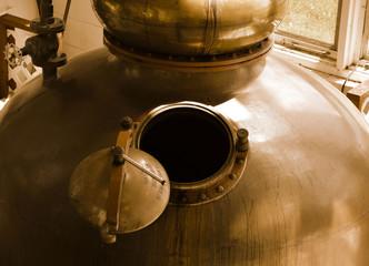 Destillery kettle