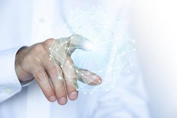 mano, internet, connessione, rete,