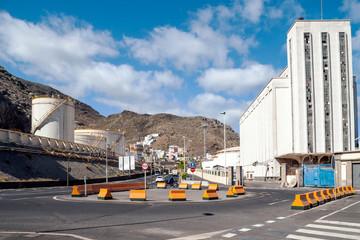Santa Cruz de Tenerife in Canary Island